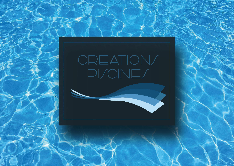 logo creations piscine